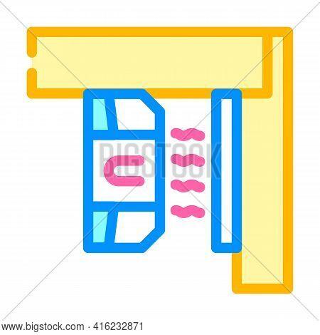Magnetic Sensor Color Icon Vector. Magnetic Sensor Sign. Isolated Symbol Illustration