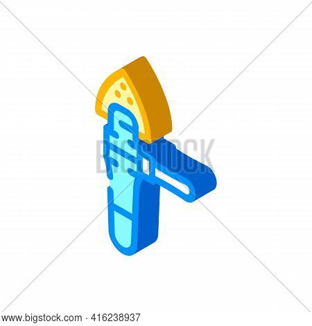 Renovator Tool Isometric Icon Vector. Renovator Tool Sign. Isolated Symbol Illustration