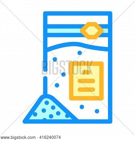 Sodium Benzoate Color Icon Vector. Sodium Benzoate Sign. Isolated Symbol Illustration