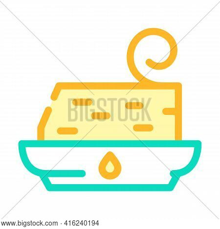 Trans Fat Color Icon Vector. Trans Fat Sign. Isolated Symbol Illustration