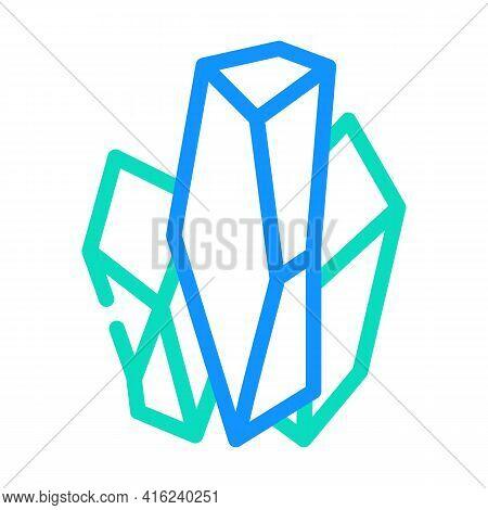 Monosodium Glutamate Msg E621 Color Icon Vector. Monosodium Glutamate Msg E621 Sign. Isolated Symbol