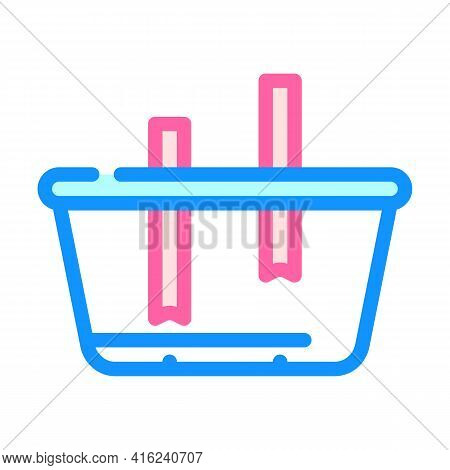 Lunchbox Constructor Color Icon Vector. Lunchbox Constructor Sign. Isolated Symbol Illustration