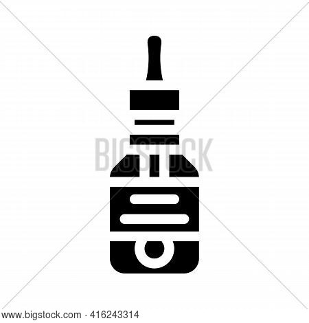 Artificial Flavoring Glyph Icon Vector. Artificial Flavoring Sign. Isolated Contour Symbol Black Ill