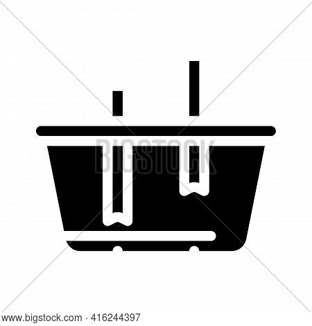 Lunchbox Constructor Glyph Icon Vector. Lunchbox Constructor Sign. Isolated Contour Symbol Black Ill
