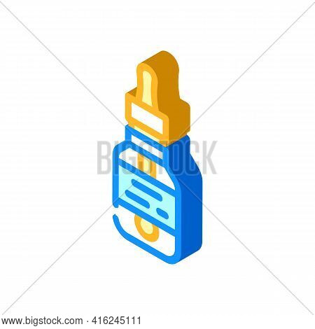 Artificial Flavoring Isometric Icon Vector. Artificial Flavoring Sign. Isolated Symbol Illustration