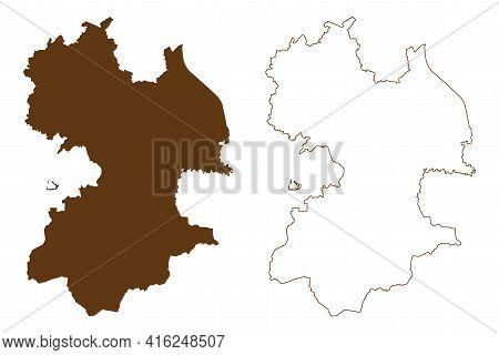 Traunstein District (federal Republic Of Germany, Rural District Upper Bavaria, Free State Of Bavari