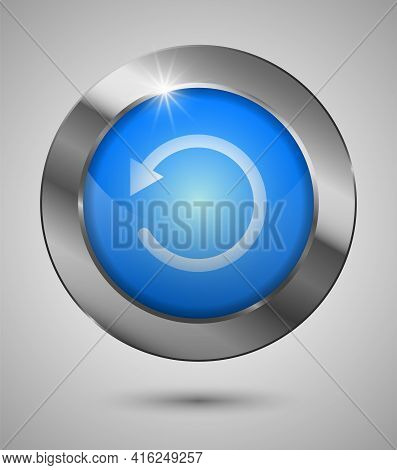 Eps10 Reload Button. Perfect For Your Website Or App Or Any Use You Want To Make Of It.