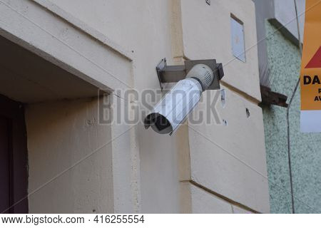 Video Surveillance, The Observation And Monitoring With Cameras Or Cctv