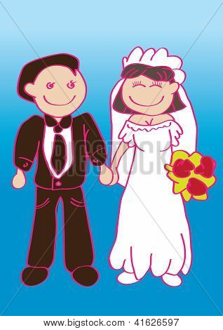 Vector Wedding Set