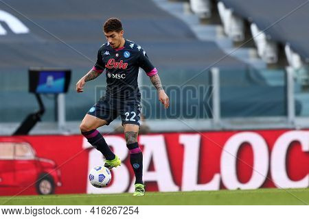 Torino, Italy. 07 April 2021. Giovanni Di Lorenzo Of Ssc Napoli  During The Serie A Match Between Ju
