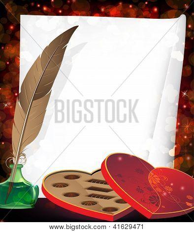 Valentine's Box Of Chocolates.
