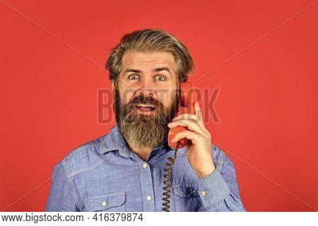 Call Me. Successful Negotiations. Answering Machine. Lead Generation Specialist. Sales Script. Beard