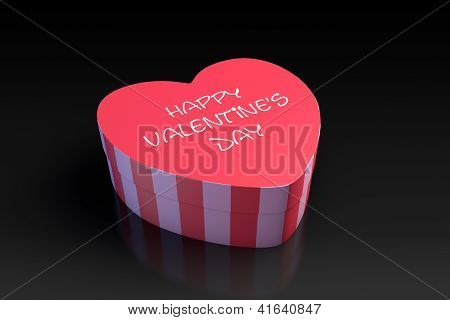 Valentine's Day Heart Shaped Box