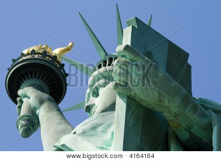 New York  Statue Of Liberty Close Up 05 All