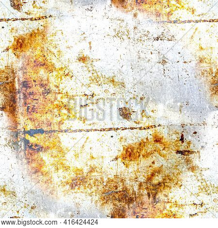 Rough Retro Dirty Texture. Old Stone Background. Art Paint Crack Surface. Grungy Grain Wall. Rusty G