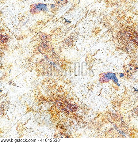 Old Vintage Dirty Texture. Paint Stone Background. Ink Rough Crack Surface. Abstract Grain Structure
