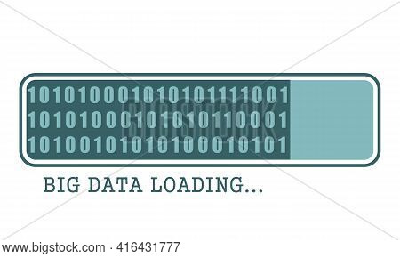 Machine Code Loading. Concept Of Internet Technology
