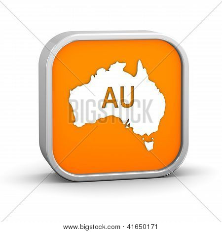 International Country Code Sign - Australia