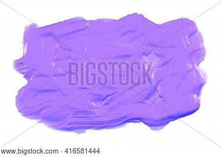 Purple Thick Acrylic Watercolor Paint Texture Background