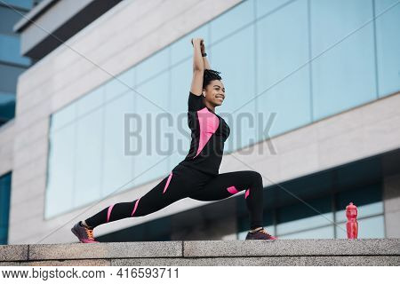 Motivation, Vitality And Active Sports In City, Urban Workout And Body Care