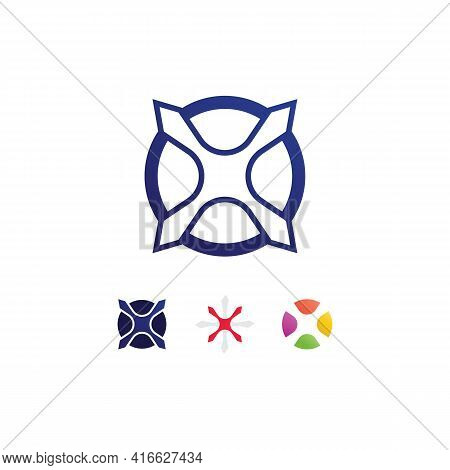 X Logo And Letter X Vector, Logo Template,  Illustration Design Vector Graphic Alphabet Symbol Initi