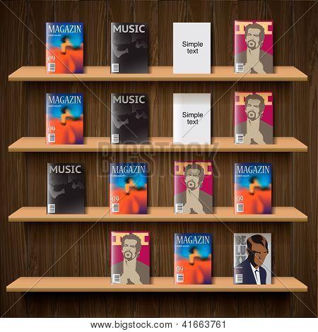 Newsstand, vector Eps10 illustration.