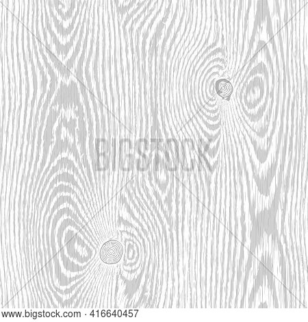 Wood Texture. Light Grey Wooden Background. Old Textured Piece Of Wood With Scratches, Top View. Hig