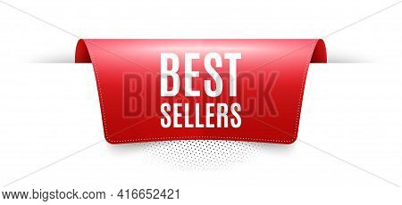 Best Sellers. Red Ribbon Label Tag. Special Offer Price Sign. Advertising Discounts Symbol. Infograp