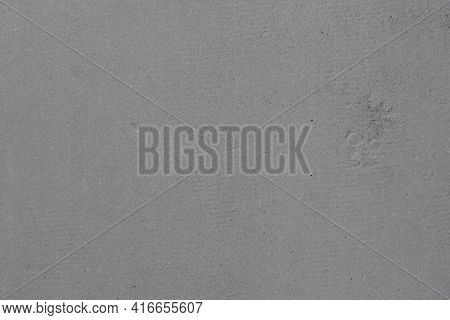 The Texture Of The Gray Slate Surface. Slate For Wall Cladding And Protection From Precipitation.