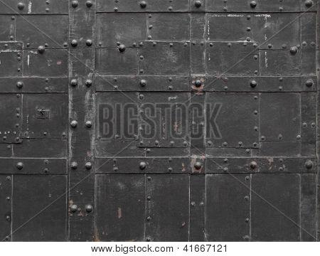 Fragment of Iron door
