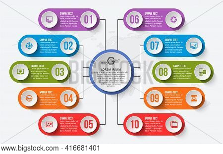 Vector Abstract 3d Infographic Elements.business Infographics