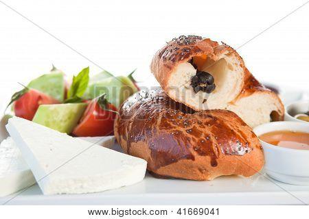 Bun and sandwich