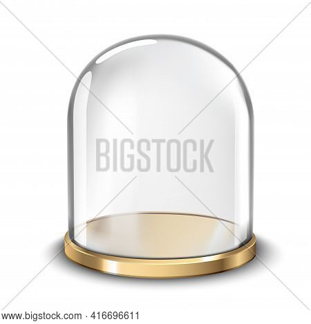 Cake Stand With Glass Cover Dome Ill