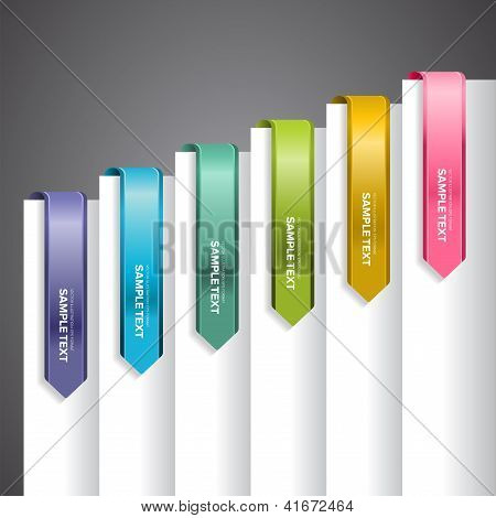 Bookmark Labels Arrow