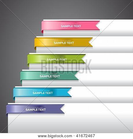 Bookmark Labels Ribbon