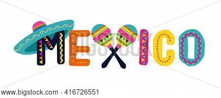 Mexico, Cinco De Mayo - May 5, Federal Holiday In Mexico. Fiesta Banner And Poster Design With Flags