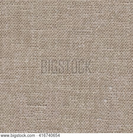 Ideal New Beige Material Background. Seamless Square Texture.