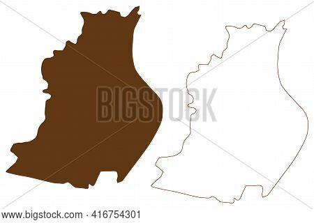 Rosenheim City (federal Republic Of Germany, Urban District Upper Bavaria, Free State Of Bavaria) Ma