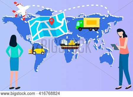 Selling Products Online, E-commerce, International Transportation Of Goods Transport Logistics