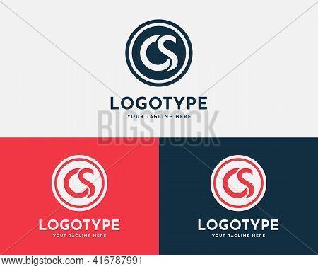 Letter Cs, Os Initial Logo Design Template. Creative And Modern Monogram Symbol. Premium Logotype Fo