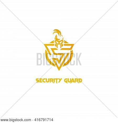 Letter S Template Colored Warrior Spartan Design For Business And Company Identity Design Template F