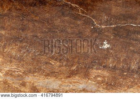 Macro Stone Mineral Marble Onyx On White Background