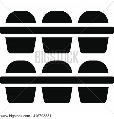 Baking Icon, Bakery And Baking Related Vector Illustration