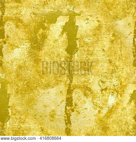Grunge Old Dirty Texture. Abstract Crack Background. Aged Rough Dust Effect. Grungy Brush Structure.