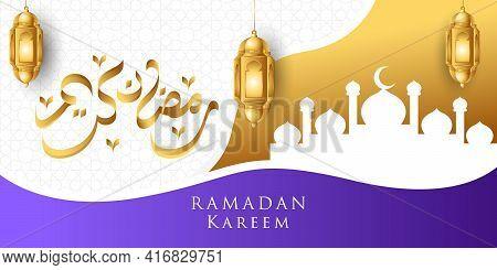 Ramadan. Ramadan Kareem. Ramadan Kareem Vector Illustration. Ramadan background. Ramadan vector. Ramadan design. Ramadan vector illustration. Ramadan Kareem Background vector template for banner, greeting card, invitation, poster design.