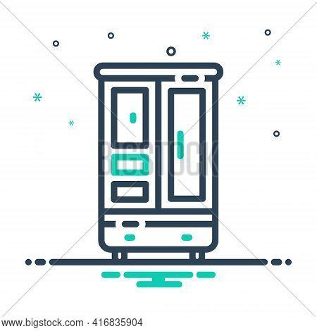 Mix Icon For Cupboard Cabinet Closet Furniture Shelf Wardrobe