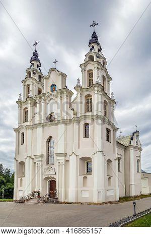 Roman Catholic Church Of Michael Archangel In Ivyanets Town, Belarus
