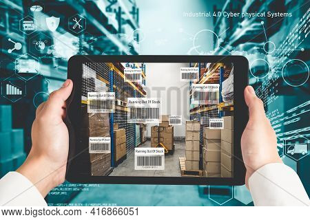 Smart Warehouse Management System Using Augmented Reality Technology To Identify Package Picking And