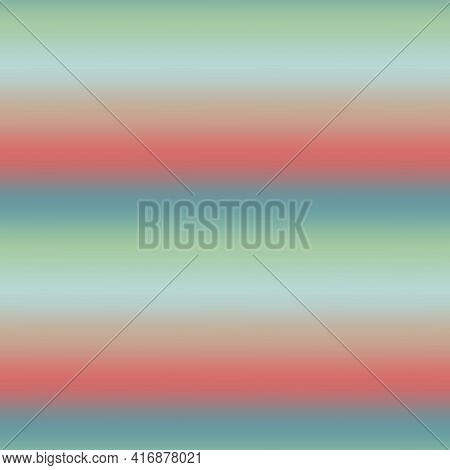 Blurry Ombre Blend Gradient Stripe Background. Variegated Pastel Horizontal Line Melange Seamless Pa