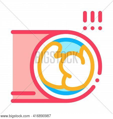 Critical Atherosclerosis Health Disease Color Icon Vector. Critical Atherosclerosis Health Disease S